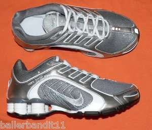 Womens Nike Shox Navina + Premium shoes sparkle Gray size 8