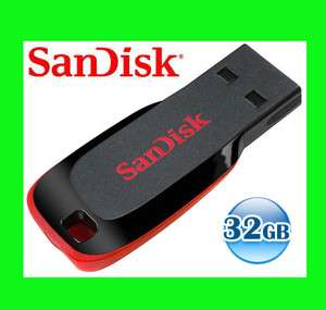 SANDISK CRUZER BLADE 32GB 32G USB Flash Pen Key Drive Disk Memory