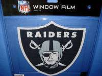 BIG CAR WINDOW FILM DECAL OAKLAND RAIDERS NFL FOOTBALL