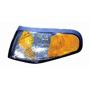 Depo 331 1540PXUSV Ford Mustang Chrome Diamond Parking Lamp with Amber