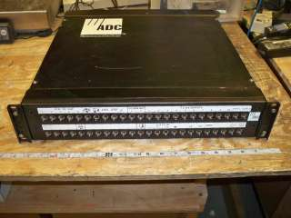 QTY AVAIL ADC 4 26790 0020 Audio Patch Bay Panel