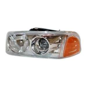 TYC 20 6860 00 GMC Driver Side Headlight Assembly
