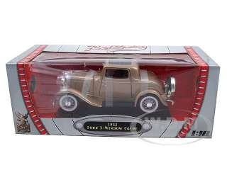 Brand new 118 scale diecast model of 1932 Ford 3 Window Coupe die