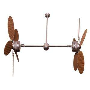 Home Decor Twin Peaks 47 in. Indoor / Outdoor Twin Ceiling Fan