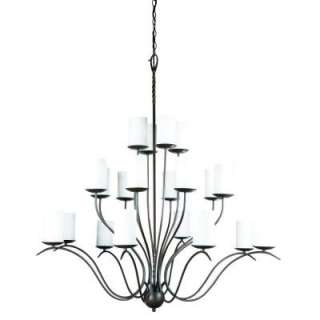 Willow 20 Light Hanging Clay Chandelier 13242 022