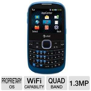 Samsung A187 Unlocked GSM Cell Phone   1MP Camera, QWERTY, Voice Memo