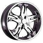 NEW 20X8.5 VCT BRASCO CHROME RIMS 5X4.5/5X120 WHEELS