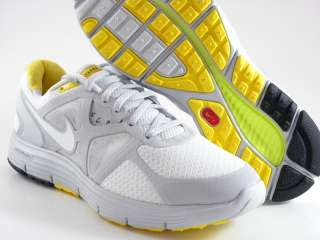 Livestrong LAF White/Gray/Yellow Running Free Women Shoes