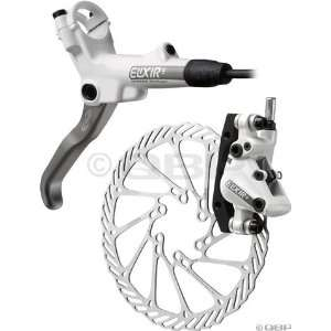 2012 Avid Elixir 5 200mm Front Disc Brake White with HS1