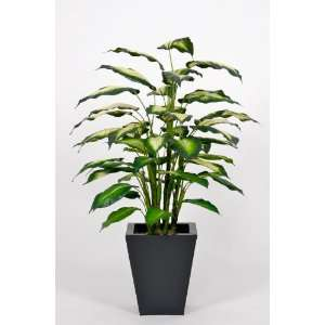 Silk Flowers Artificial Camille Diffenbachia Floor Plant in Home