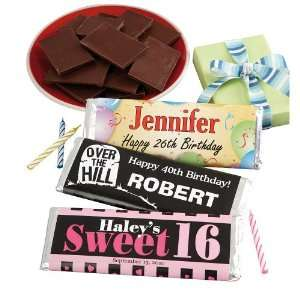 Personalized Birthday Candy Bar Wrappers   Birthday Gifts