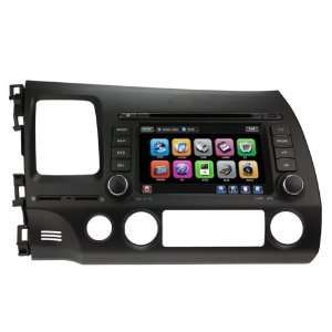 Car DVD GPS Navigation Bluetooth (Free Map) Cd6038