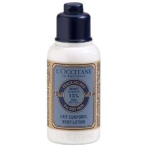 LOCCITANE Shea Butter Body Lotion 2.5 Fluid Ounces Beauty