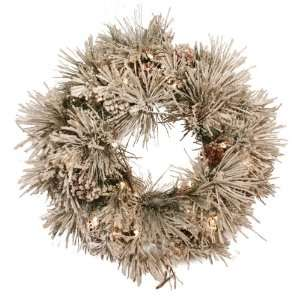 com Good Tidings 4755628 Snowdrift Artificial Prelit Christmas Wreath