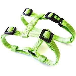 Hamilton Adjustable Comfort Nylon Dog Harness, Lime Green