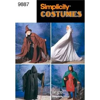 Simplicity Sewing Pattern 3519 Misses, Men and Teen Costumes