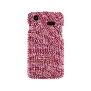 Diamond Design Protector Cover Case Hot Pink and Pink