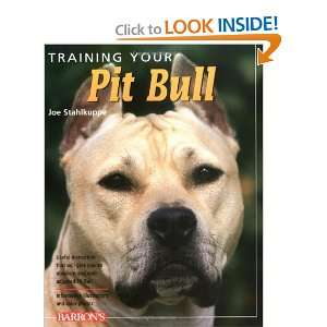 Training Your Pit Bull (Training Your Dog) [Paperback