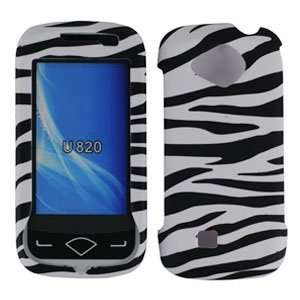 Black White Zebra Hard Protector Case Cell Phones & Accessories