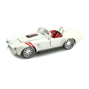 1965 Ford Shelby Cobra 427 1/24 White Toys & Games