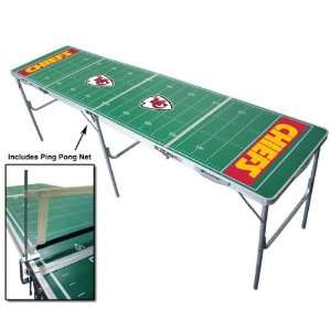 Kansas City Chiefs NFL Tailgate Table with Net