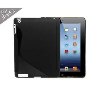 Soft Gel Cover Case for Apple iPad 3   the New iPad   Not Compatible