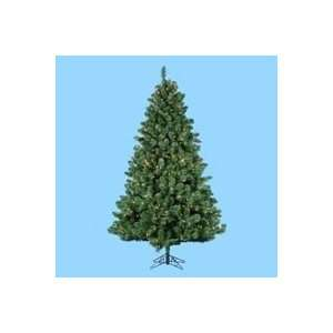 7.5 Pre Lit Vanderbilt Artificial Christmas Tree   Clear
