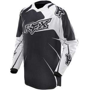 Fox Racing 360 Jersey   2010   Small/Black Automotive