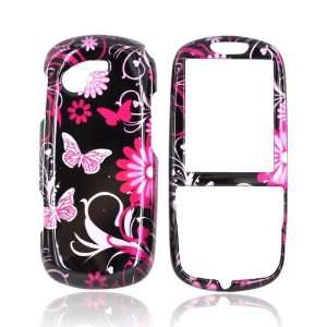 For Samsung Gravity 3 Hard Case Cover PINK FLOWERS