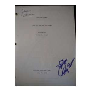 Autographed/Hand Signed Script Copy of