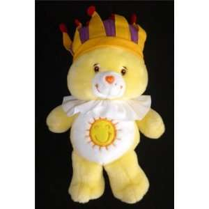 Care Bears 13 Singing King Funshine Bear Plush