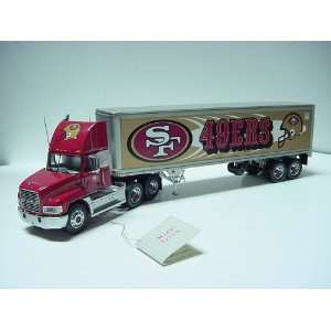 1/43 Scale Franklin Mint San Fransisco 49ers Mack Truck