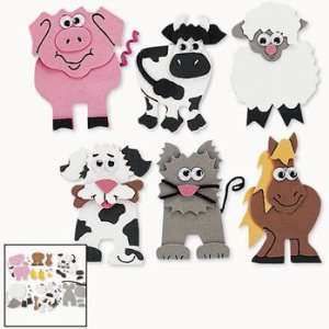 Farm Animal Magnet Craft Kit   Craft Kits & Projects