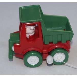 Wind Up Construction Santa (Dump Truck)  Toys & Games