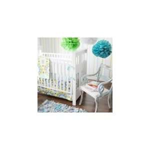 Indigo Summer Neutral Baby Crib Bedding Collection