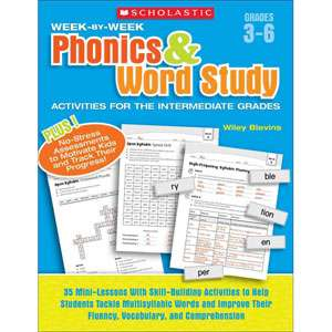 Week By Week Phonics & Word Study Activities for the Intermediate