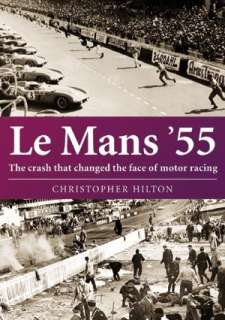Le Mans 55 The Crash Austin Healey Mercedes Jaguar