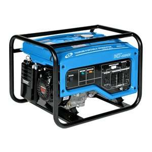 Tsurumi 4500 watts, 8 HP Honda Engine Driven Generator Tools