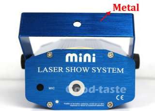 Blue Mini Laser Party Light Lighting DJ Chirstmas Music Pub Pop