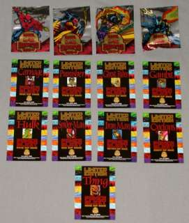 94 Fleer Marvel Universe Power Blast Trading Card Set