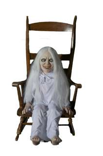 2011 DEMON GHOST GIRL Animated Halloween Prop ~WATCH THE VIDEO~