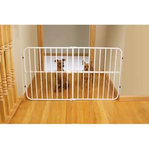 Carlson Pet Products Lil Tuffy Expandable Pet Gate Dogs