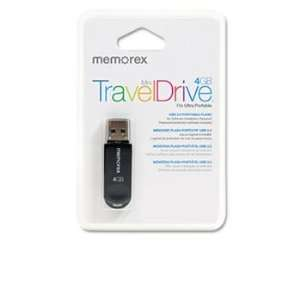 Memorex 98178   Mini TravelDrive USB Flash Drive, 4GB
